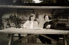talking at table